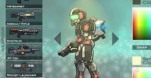 Raze 3 weapons